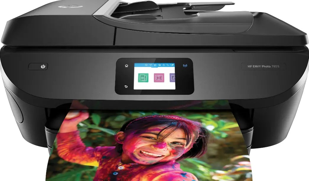 HP ENVY Photo 7855 Driver and Software for Windows & Mac